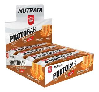 Protobar (cx 8 Unidades) - Nutrata - Amendowhey