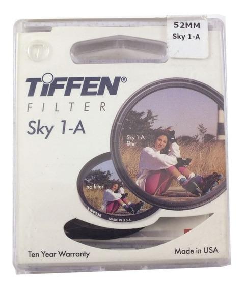 Filtro De Câmera Lente Tiffen Sky 1a Filter 52 Mm A2919