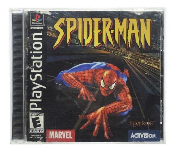 Spider-man Ps1 Mídia Física Pronta Entrega