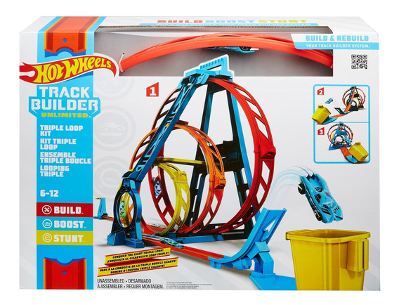 Hot Wheels Triple Loop