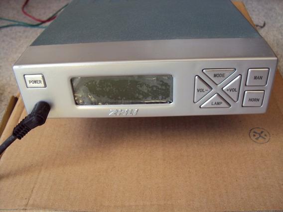 Amplificador Radio Sinalizador Com Sirene Ambulancia Policia
