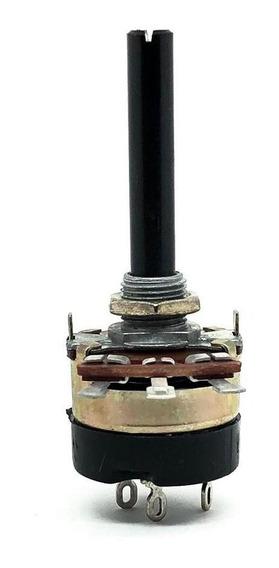 Potenciometro 100k Log Com Chave 23mm Constanta B100klog23cc