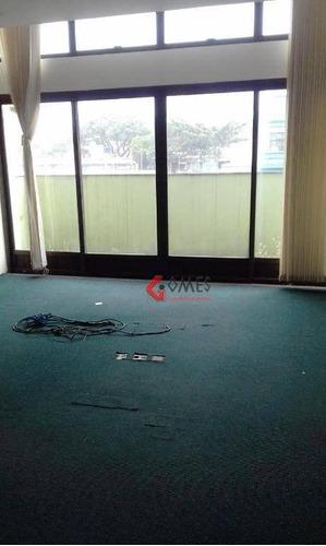 Imagem 1 de 17 de Sala Para Alugar, 330 M² Por R$ 5.500,00/mês - Jardim Do Mar - São Bernardo Do Campo/sp - Sa0066