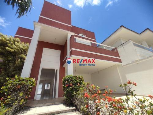 Casa Praia Do Pernambuco Guarujá/sp - Ca0268
