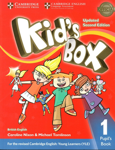 Kids Box 1 / Pupil's Book / Updated 2nd Edition - Cambridge