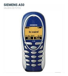 Siemens A50 Sem Bateria E Acessórios, Somente Aparelho