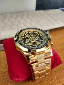 Relógio Automático Winner Tm340 Original 3bar + Brinde