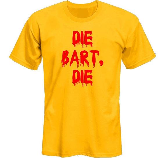 Remeras Simpsons Bob Patiño Die Bart Adult *mr Korneforos*