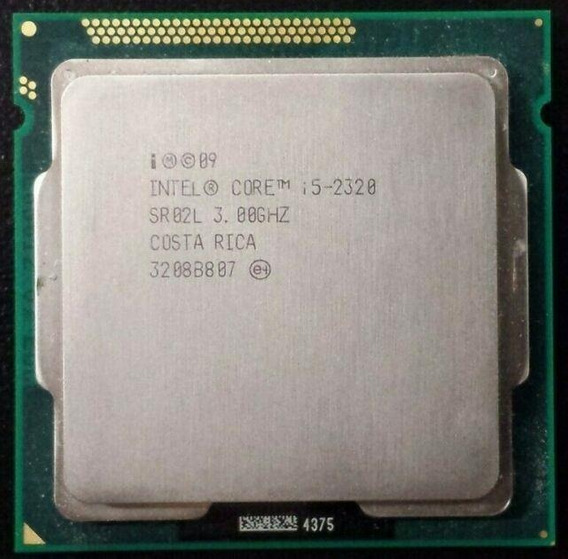 Intel® Core I5-2320, 3.30 Ghz 1155