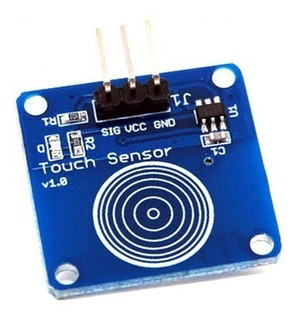 Sensor Touch Capacitivo Chave Toque Arduino