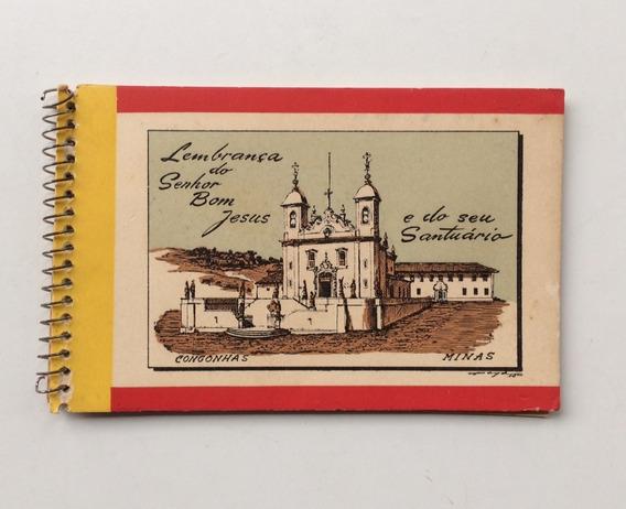 Álbum Santuário Do Senhor Bom Jesus Foto Postal Colombo 1958