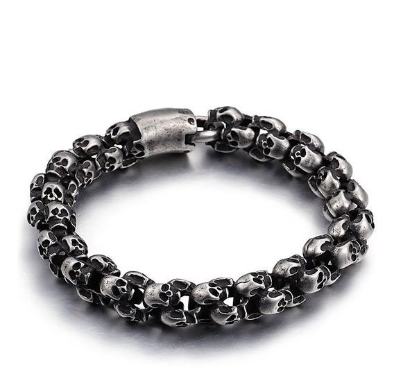 Pulseira Em Aço Cirurgico - Bracelete Para Homens