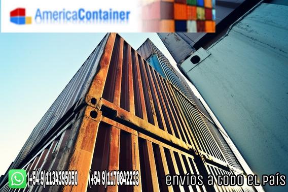 Contenedores Containres Marítimos Usados Nacionalizados.