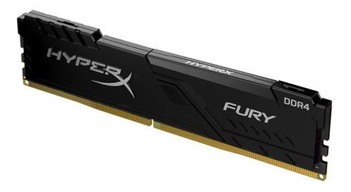 Imagem 1 de 3 de Memória RAM Fury color Preto  16GB 1 HyperX HX424C15FB4/16