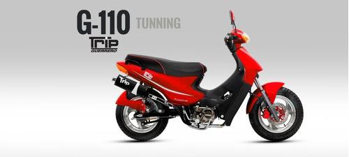 Guerrero Trip 110 Tunning Ap Motos Honda Wave Gilera Blitz
