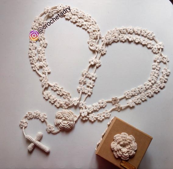 Lazo Matrimonial Crochet
