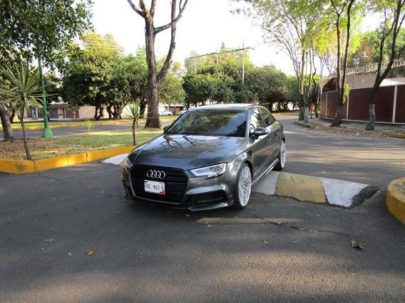 Audi A3 Sline Sedan 2018 Unico Dueño Rin 20 Nuevo