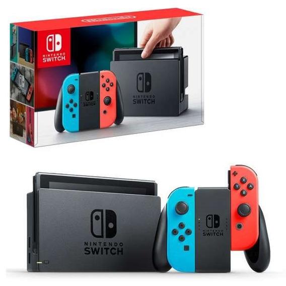 Nintendo Switch Neon 512gb Desbloqueado Sxos