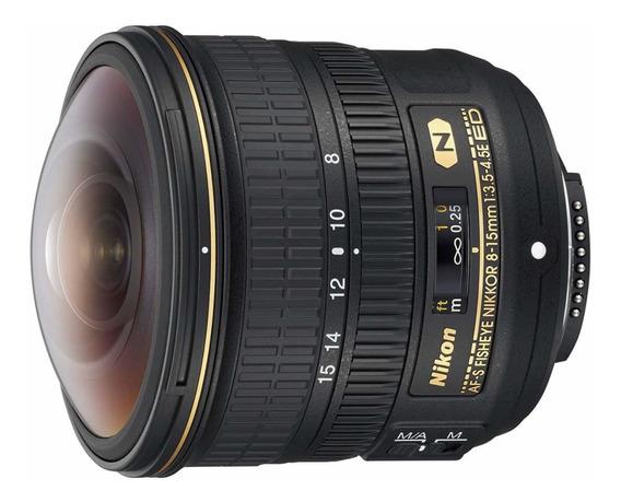 Nikon Af-s Fisheye Nikkor 8-15mm F/3.5-4.5e Ed F/4.5-29