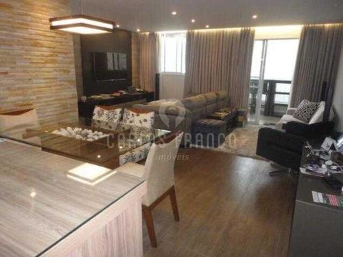 Vila Mascote Apartamento Com Dois Dormitórios 1 Suite Duas Vagas 86m2 - Cf65738