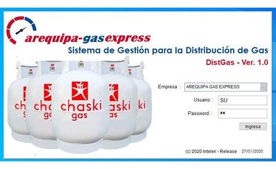 Sistema Para Distribuidor De Gas (glp Envasado) Domestico