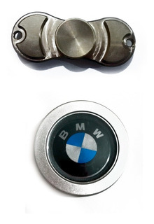Combo Spinner Bmw Metálico + Spinner Llavero Metálico