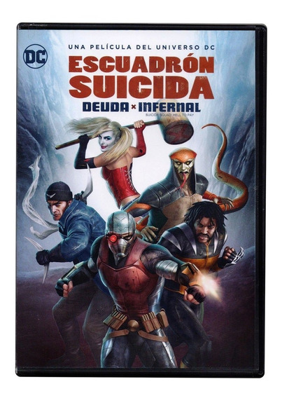 Escuadron Suicida Deuda Infernal Hell To Pay Dvd