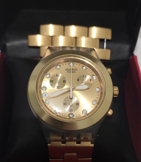 Relógio Swatch Irony Diaphane Com Todos Os Elos