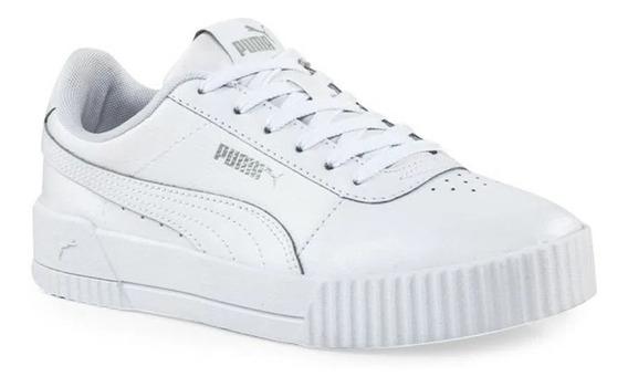 Zapatillas Puma Lifestyle Mujer Carina L Adp Blanco Ras