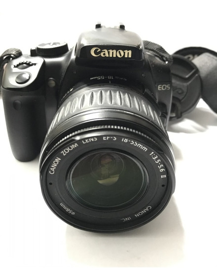 Câmera Fotográfica Canon Ds126151 Com Problema