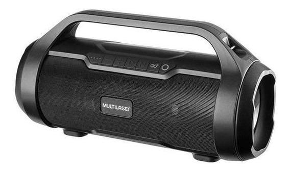 Caixa De Som Bluetooth Super Bazooka Multilaser Sp339 180w