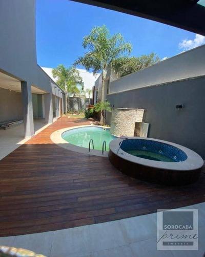 Imagem 1 de 30 de Sobrado Com 4 Dormitórios, 600 M² - Venda Por R$ 2.400.000 Ou Aluguel Por R$ 10.000/mês - Itapeva - Votorantim/sp - So0221