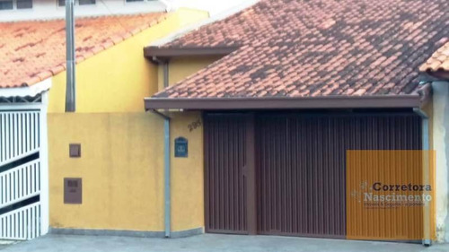 Imagem 1 de 20 de Ca1238 - Casa Com 3 Dormitórios À Venda, 93 M² Por R$ 370.000 - Jardim Altos De Santana Ii - Jacareí/sp - Ca1238