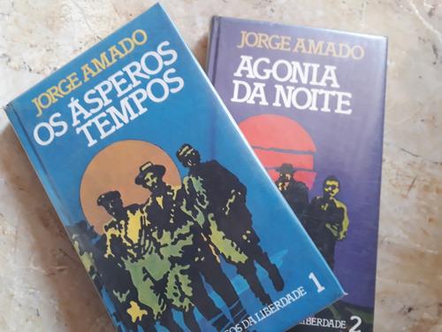 Livros: Jorge Amado - Os Ásperos Tempos + Agonia Da Noite