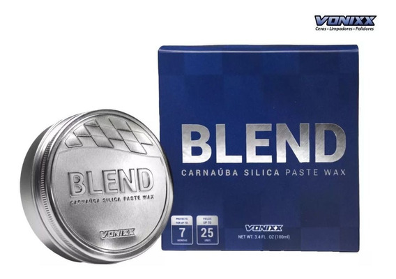Blend Carnaúba Sílica Paste Wax 100ml Vonixx
