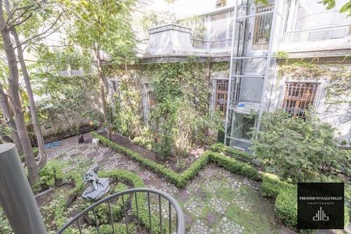 Imagen 1 de 30 de Casa Estilo Frances Con Jardin En Zona De Embajadas