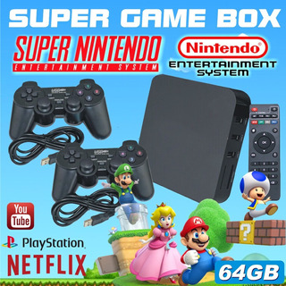 Super Game Box - Video Game Retro Multijogos Clássicos 64gb