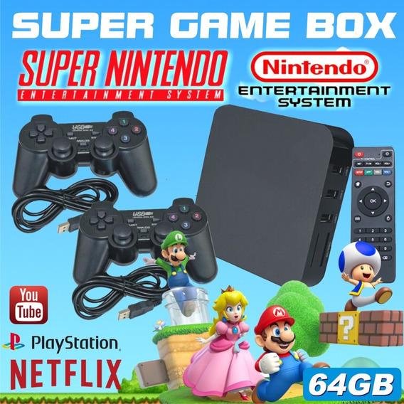 Super Game Box - Video Game Retro Multijogos Clássicos 64gb