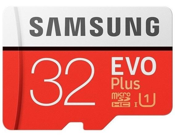 Cartão De Memoria Micro Sd 32gb Samsung Embalagem Original