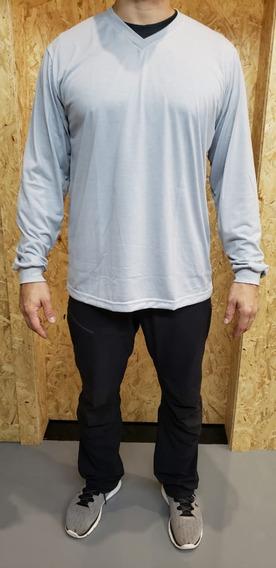 Uniforme Profissional Camiseta M/longa Kit 03 Camisetas