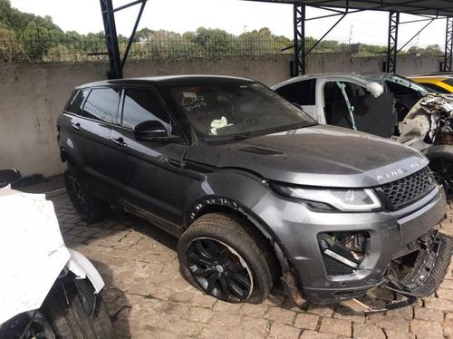 Imagem 1 de 9 de  Range Rover Evoque Hse 2018 Sucata Motor Peças Acessórios