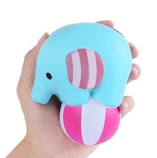 Aolige Jumbo Elefante Blando Bola Del Juego De Kawaii Crema