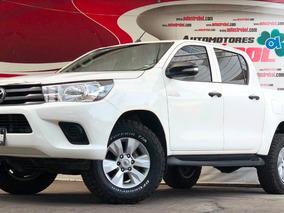 Toyota Hilux 2.7 Cabina Doble Sr, Llantas Nuevas, Excelente