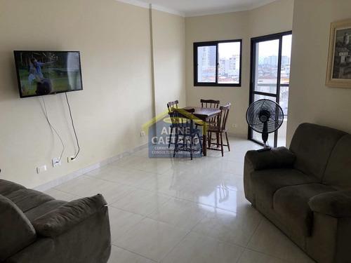Apto 1 Dorm, Boqueirão, Praia Grande - R$ 190 Mil - Vact1456
