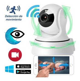 Monitor De Vigilancia Bebé Wifi 360º Hd Para Celular Video