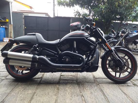 Harley Davidson V-rod Preta 2014