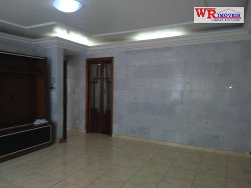 Imagem 1 de 30 de Sobrado À Venda, 304 M² Por R$ 950.000,00 - Rudge Ramos - São Bernardo Do Campo/sp - So0755