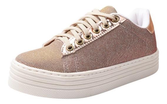 Tênis Casual Sapatenis Slip On Sneaker Feminino Ref 2010