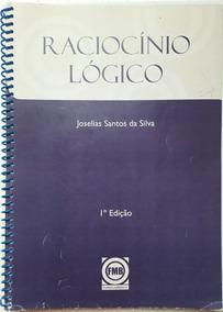 Livro Espiral Raciocínio Lógico Joselias Santos Da Silva