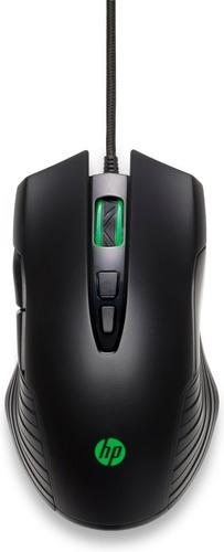 Imagen 1 de 8 de Mouse Hp X220 Backlit Gamming Usb 8dx48aa Gamer 3600 Dpi
